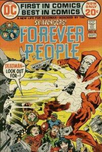 Forever People (1971 series) #10, VG+ (Stock photo)