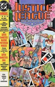 Justice League (1987 series) Annual #3, VF+ (Stock photo)