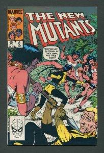 New Mutants #8  7.5 VFN-  October 1983