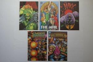Huge Lot of 40 Comic Books DC Marvel Image Vertigo ++ Unread Copies 1980's Up A3