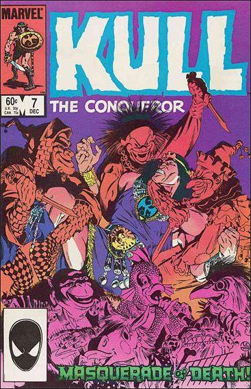 Marvel KULL THE CONQUEROR (1983 Series) #7 VF