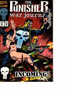 Lot Of 2 Comic Books Marvel Punisher War Journal #53 and Deathlok #15  MS17
