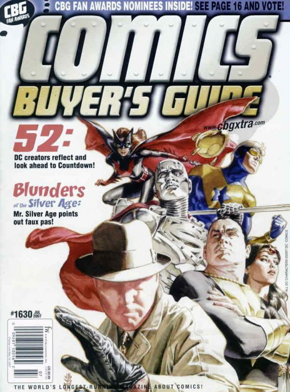 Comics Buyer's Guide #1630 VF/NM; F&W | save on shipping - details inside