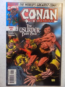 CONAN THE BARBARIAN THE USURPER # 1