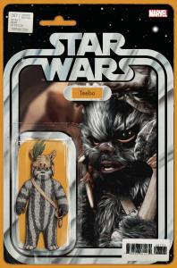 Star Wars #67 Action Figure Variant (Marvel, 2019) NM