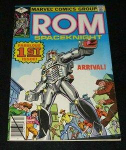 Rom #1 VF Marvel Comic Book Frank Miller 1st App. Hybrid Nightcrawler Wolverine