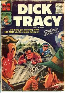 Dick Tracy  #106 1956-painted cover-Chester Gould-FR