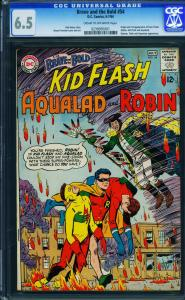 BRAVE AND THE BOLD #54 1964 CGC 6.5- 1st appearance of Teen Titans- 0239095001