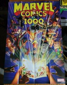 LARGE 36 x 24 Marvel Comics #1000 Promo Poster 2019 Spider-Man X-Men Thanos