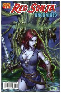 RED SONJA Unchained #4, NM, Robert E Howard, 2013, more RS in store, with Sword