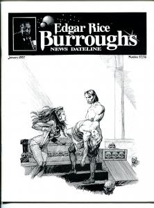 Edgar Rice Burroughs News Dateline #57/58 1997-Tarzan-comics-books-pulps-VF