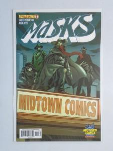 Masks (Dynamite) #1RHE-MIDTOWN, 8.0/VF (2012)
