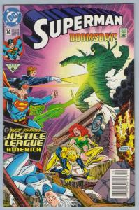 Superman V2 74 Dec 1992 NM- (9.2)