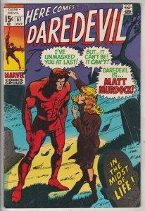 Daredevil #57 (Oct-69) FN+ Mid-High-Grade Daredevil