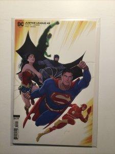 Justice League 42 Variant Near Mint Nm Dc Comics