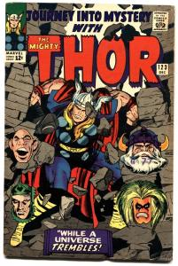 Journey Into Mystery #123--silver Age Marvel--thor--jack Kirby