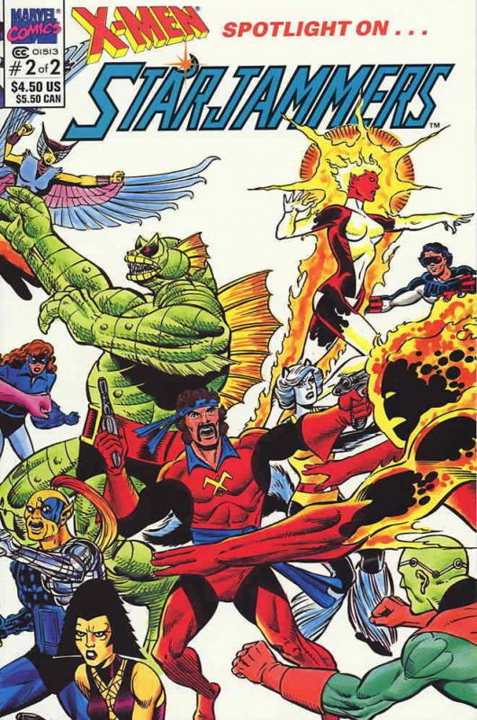 X-Men Spotlight On…Starjammers #2 VF/NM; Marvel | save on shipping - details ins