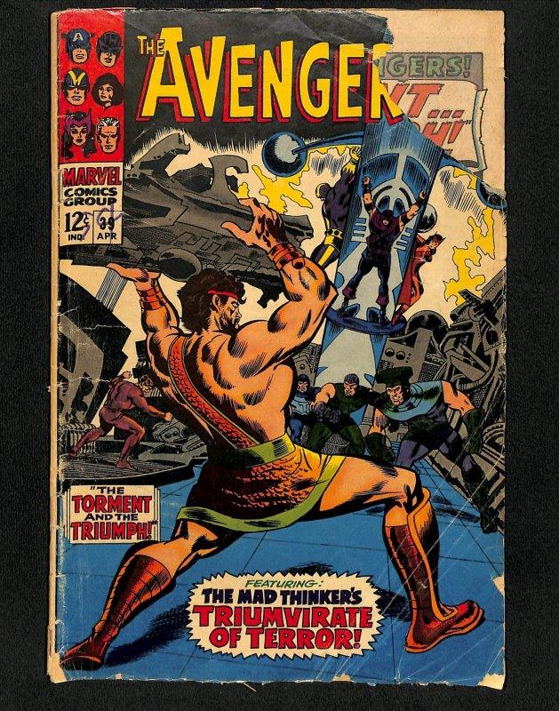 Avengers #39 Black Widow Cameo!