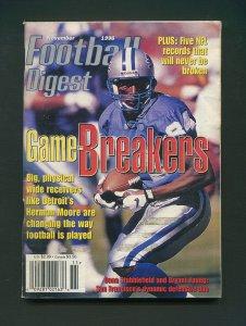 Football Digest / Herman Moore / November 1996