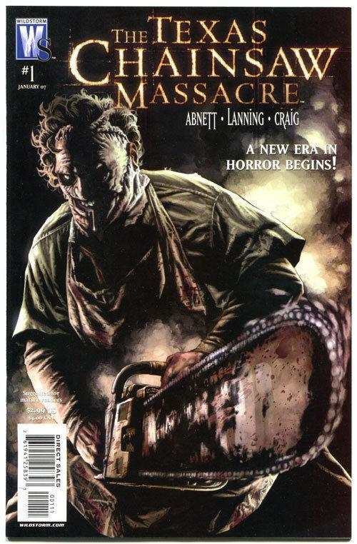 TEXAS CHAINSAW MASSACRE #1, VF, Bloody Mess, Horror, 2007, more in store