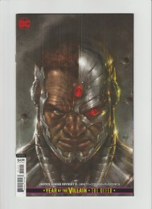 Justice League Odyssey #11 NM 9.4 Parrillo Variant!!