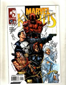 11 Comics Marvel Knights 1 2 3 Tour Book 1 Marvel Knights 2 Vol.2 2 +MORE HY3