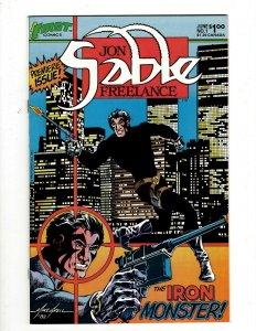 Lot of 12 Jon Sable Freelance First Comic Books #1 2 3 4 5 6 7 8 9 10 11 12 GK49