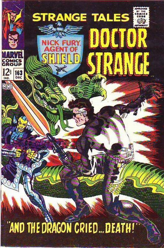Strange Tales #163 (Dec-67) FN/VF Mid-High-Grade Nick Fury, Dr. Strange