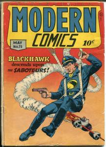 Modern #73 1948-Blackhawk-Reed Crandall-Torchy-Bill Ward Good Girl Art-VG
