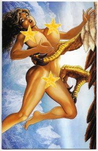 Cavewoman Terror In The Skies #1 Cvr E Ltd to 450 w/COA (Amryl, 2019) NM