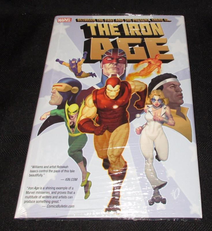 The Iron Age - Between The Past And The Present - (Marvel) - New/Sealed!