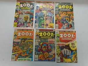 2001 A Space Odyssey lot 6 different from #1-7 avg 7.0 FN VF (1976-77)