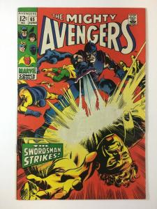 AVENGERS 65 F+ June 1969 Swordsman COMICS BOOK