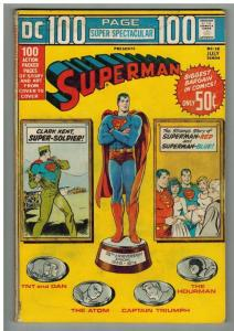 DC 100 PAGE SUPER SPECTAC DC-18 VG July 1973 SUPERMAN