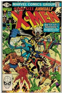 X MEN ANN  5 F-VF 1981