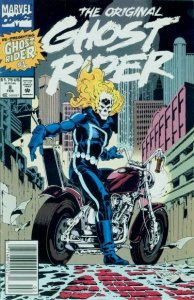 Original Ghost Rider, The #8 (Newsstand) FN; Marvel | save on shipping - details