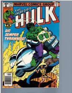 The Incredible Hulk #242 (1979) VF-