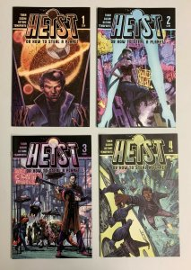 Heist Or How To Steal A Planet #1-8 Set (Vault 2019) Paul Tobin (8.0+)