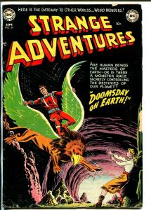 Strange Adventures 24 1952-DC-sci-fi thrills-Captain Comet-G/VG
