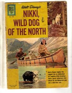 Four Color # 1226 VG Dell / Gold Key Silver Age Comic Book Nikki Wild Dog JL19