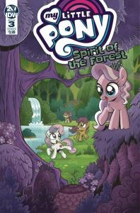 MY LITTLE PONY SPIRIT OF THE FOREST (2019 IDW) #3 PRESALE-07/31