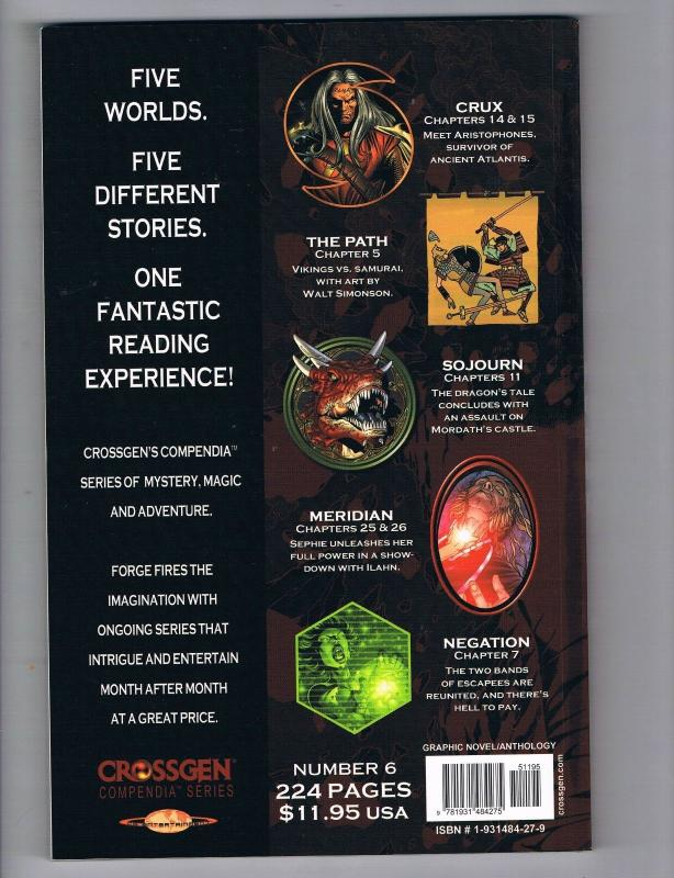 Forge # 6 NM Crossgen Comic Books Graphic Novel First Print S92