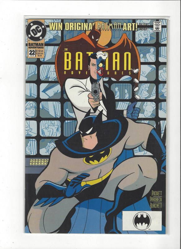 Batman Adventures #22 VS Two-Face NM