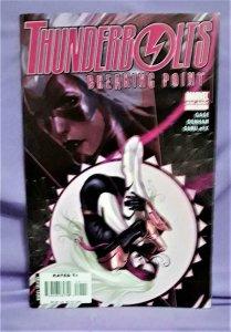 Christos Gage THUNDERBOLTS Breaking Point One Shot Brian Denham (Marvel, 2008)!