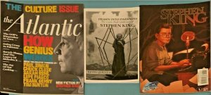 Atlantic Magazine 2011 Stephen King short story with Kevin Quigley signed book.