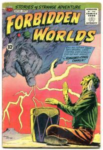 Forbidden Worlds #82 1959- Silver Age Sci-fi comic VG