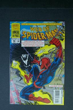 Web of Spider-Man Annual #10 1994 Shriek