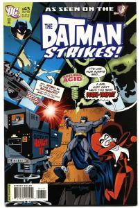 Batman Strikes #43-2008-Harley Quinn cover-Comic Book