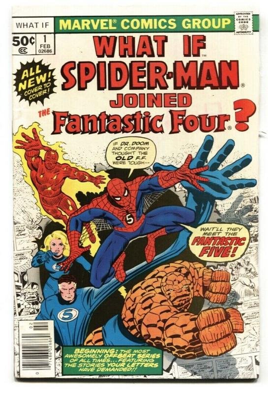 What If #1 comic SPIDER-MAN HAD JOINED THE FANTASTIC FOUR?