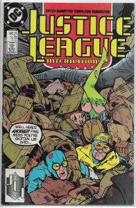 Justice League International   vol. 1   #21 FN